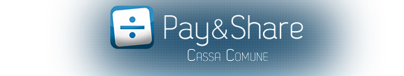 Pay And Share - Cassa Comune